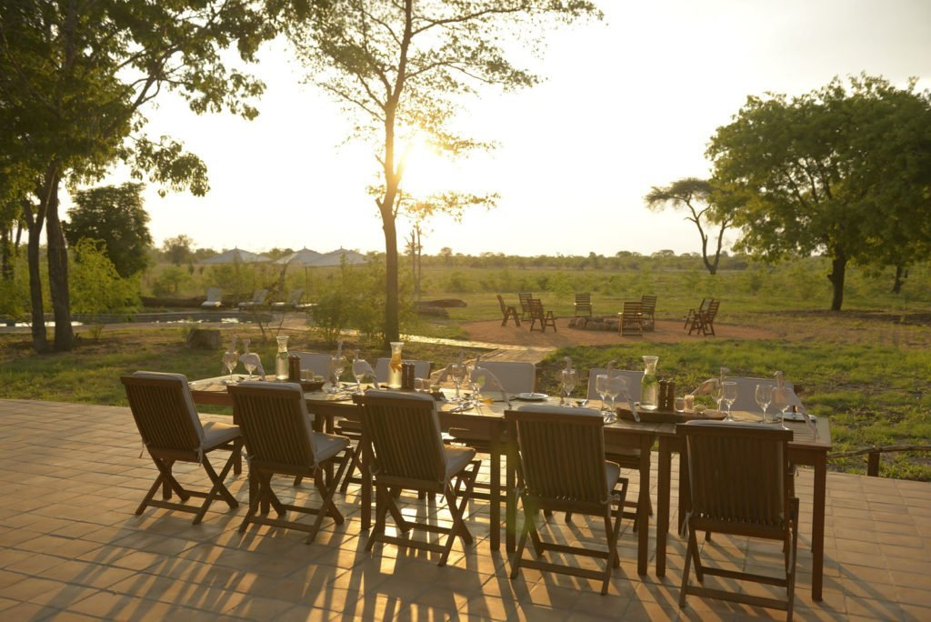 Our bush dinners set out under the stars are one of the main highlights of the Elephant's Eye experience. Our focus is on fresh food, combining interesting flavours and textures with a contemporary yet informal approach. This modernity is further balanced out with open fire cooking, traditional methods that are quintessentially African. The chef is also more than happy to provide you with plenty of choices for those with special dietary requirements.
