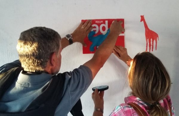 Transforming an Educational Space for Disadvantaged Learners – Agents Paint a Classroom at Dingani Primary School 1