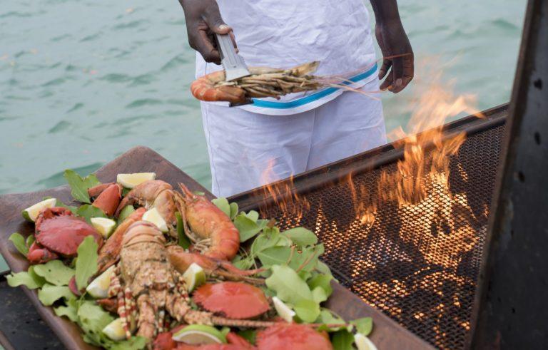 Rio Azul, Mozambique - Food