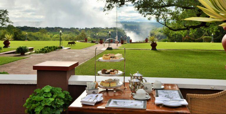 Victoria Falls Hotel High Tea