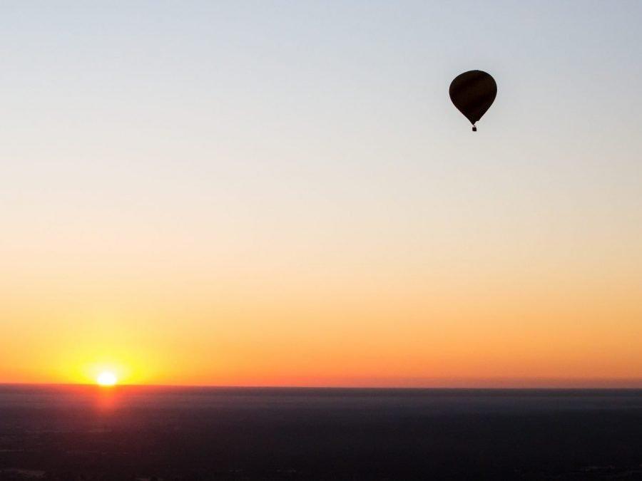 Hot air balloon SADC special